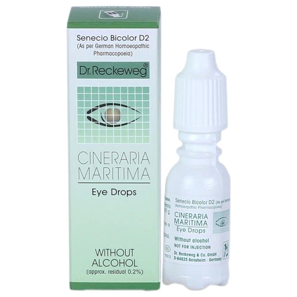 Cineraria Maritima Eye Drops Without Alcohol 10Ml