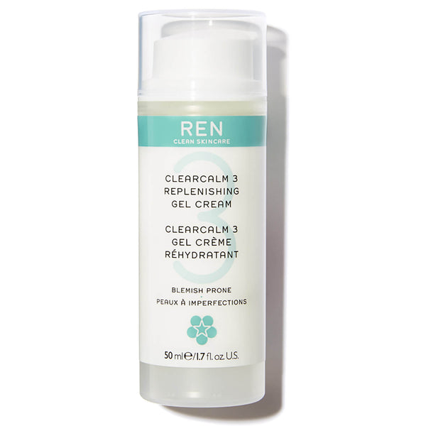 ren clean skincare clearcalm replenishing gel cream