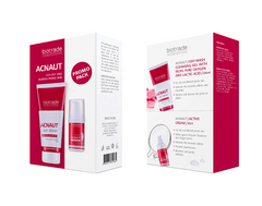 Acnaut Oxy Wash/Active Cream 2 Piece Kit