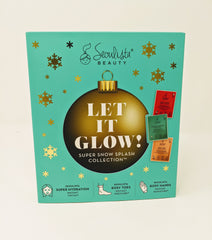 seoulista beauty let it glow sheet mask manicure pedicure set