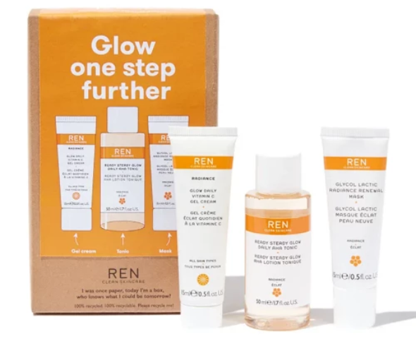 REN Clean Skincare Glow One Step Further Kit