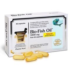 Pharmanord Bio-Fish Oil 1000mg 80 Capsules