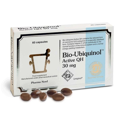 Pharmanord Bio-Ubiquinol Active QH 30mg 60 Tablets
