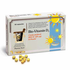 Pharmanord Bio-Vitamin D3 800IU 20mcg 80 Caps
