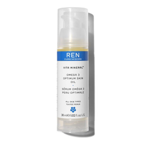REN Clean Skincare Vita Mineral™ Omega 3 Optimum Skin Oil 30ml
