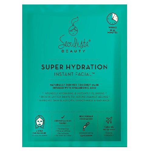 Seoulista Beauty Super Hydration Instant Facial 25ml