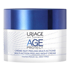 Uriage Age Protect Multi-Action Peeling Night Cream Jar 50ml