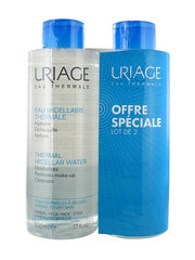 Uriage Thermal Micellar Water for Normal to Dry Skin 500ml x 2