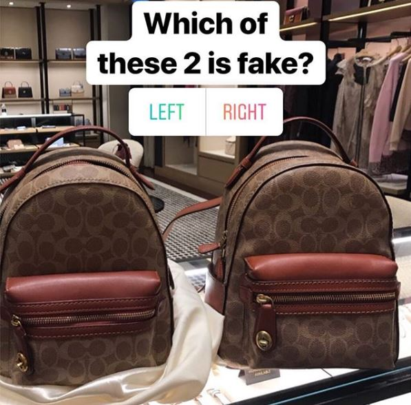 Which one is fake? Here's the answer...