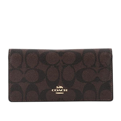 Coach Signature Canvas Bifold Wallet F88026 IMAA8