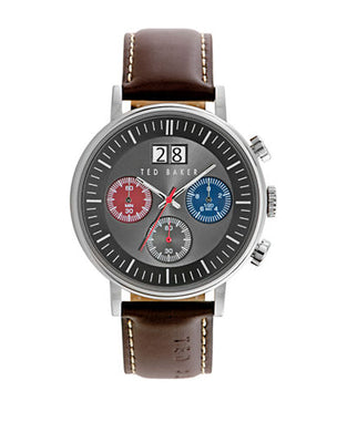 Ted Baker Analogue 10023469 Brown Leather Strap Watch