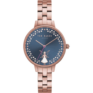 Ted Baker Ladies Rose Gold Plate Kate Fairy Watch TE50005002