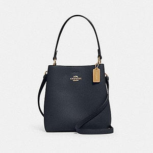 Coach Small Town Bucket Bag 1011 In Midnight