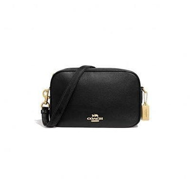 Coach Jes Crossbody Bag F39856 In Black Leather