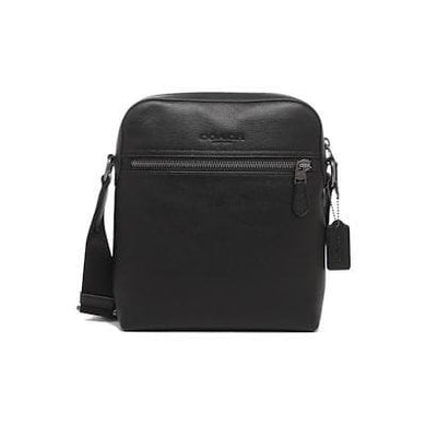 Coach Houston Flight Crossbody Bag F68014 In Black
