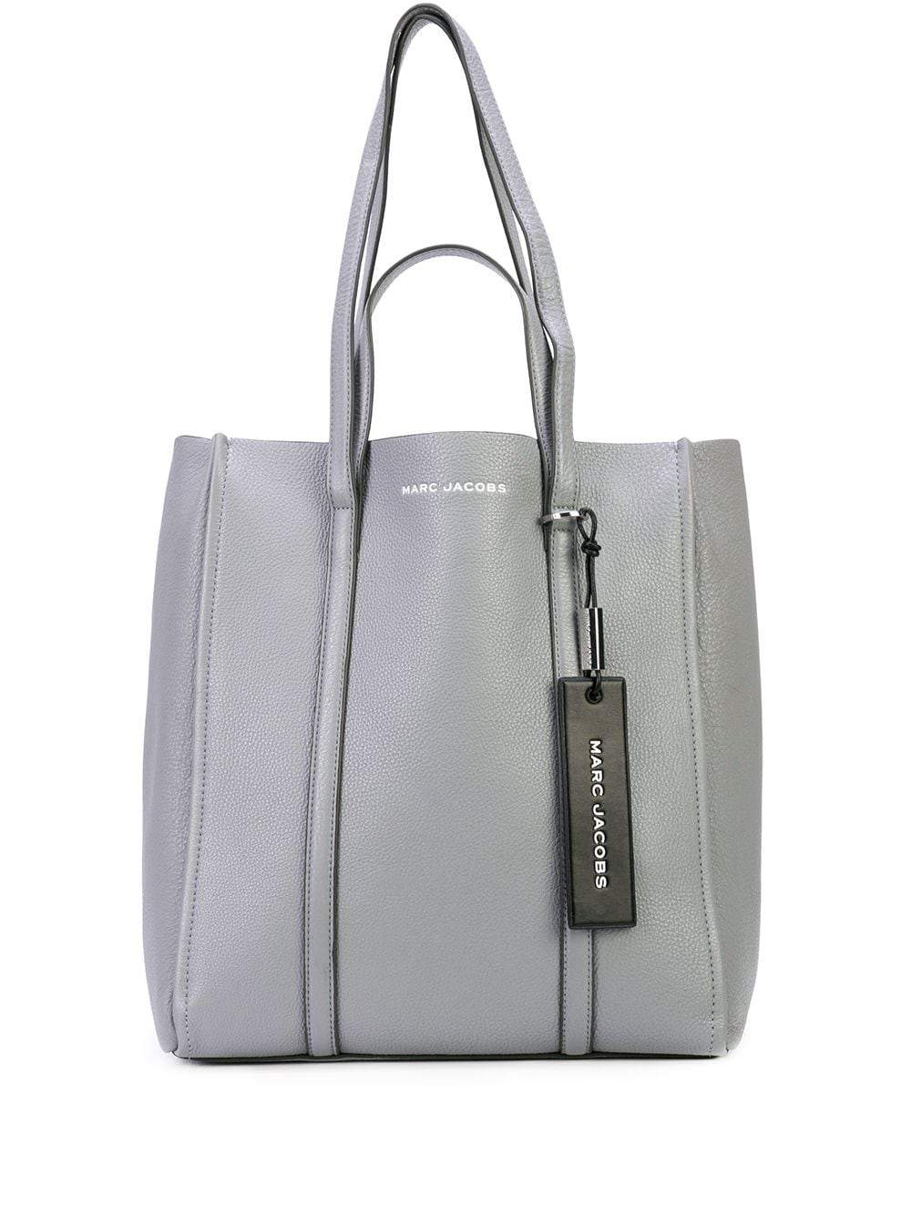 Marc Jacobs The Oversized Tag M0015655  Tote Bag In Rock Grey