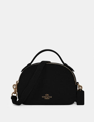 Coach Serena 1589 Satchel Bag In Black