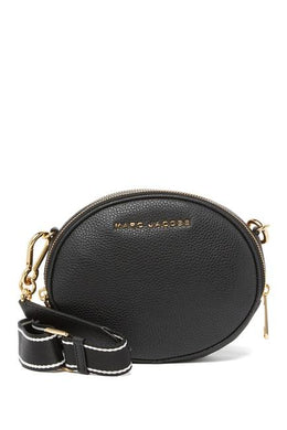Marc Jacobs Rewind Oval M0016411 Crossbody Bag In Black