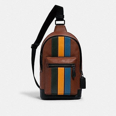Coach West Pack 1974 Crossbody Bag In redwood