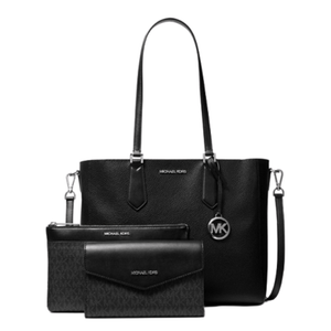 Michael Kors Large Kimberly 35H9GKFT9T 3 In 1 Tote Bag In Black