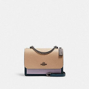 Coach Colorblock Klare 2308 Crossbody Bag In Peacock Multi