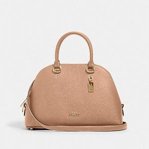Coach Katy 2553 Satchel Bag In Taupe