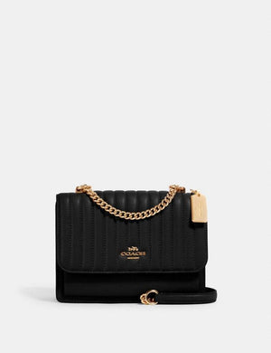 Coach Klare Quilted 2561 Crossbody Bag In Black