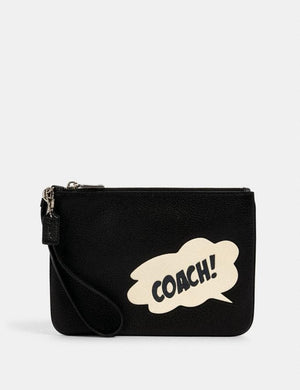Coach X Marcel Gallery 2648 Pouch Bag In Black