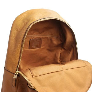 Coach Charlie Backpack F29004 In Light Saddle