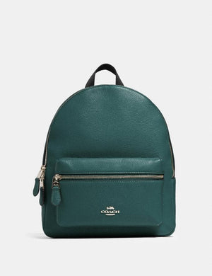 Coach Medium Charlie Backpack 30550 In Dark Turqoise