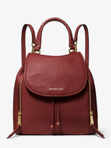 Michael Kors Viv Large Backpack 30F6GVBB3L In Brandy