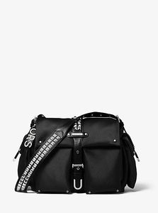 Michael Kors Large Olivia 30S9SOVM9C Flap Messenger Bag In Black