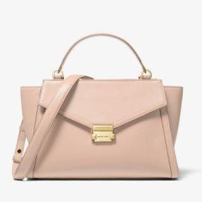 Michael Kors Large Whitney 30T9GWHS9L Satchel Bag In Soft Pink