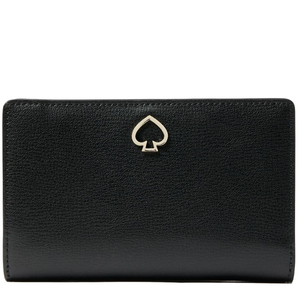 Kate Spade Medium Adel WLRU6082 Bifold Wallet In Black