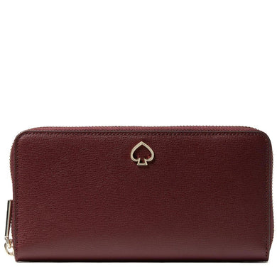 Kate Spade Large Adel WLRU6029 Continental Wallet In Cherrywood