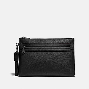 Coach Academy 32175 Pouch Bag In Black