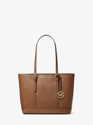 Michael Kors Jet Set Travel Small Zip Top Tote Bag 35S0GTVT1L In Luggage