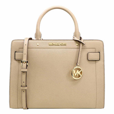 Michael Kors Rayne Medium EW Satchel Bag 35S0GU9S2L In Bisque