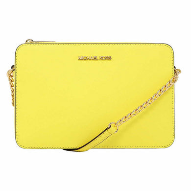 Michael Kors Large EW 35T8GTTC9L Jet Set Item Crossbody Bag In Sunshine
