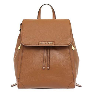 Michael Kors Medium Ginger 35H9GYJB2L Leather Backpack In Luggage