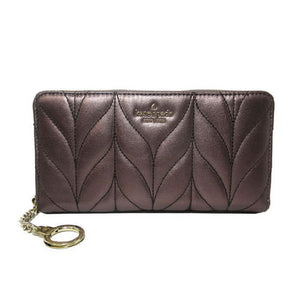 Kate Spade Neda WLRU5511 Briar Lane Quilted Wallet In Metallic Oak