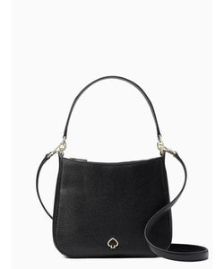 Kate Spade Kailee Small Double Compartment Shoulder Bag WKRU6488 In Black