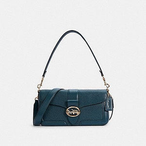 Coach Georgie 5493 Shoulder Bag In Peacock