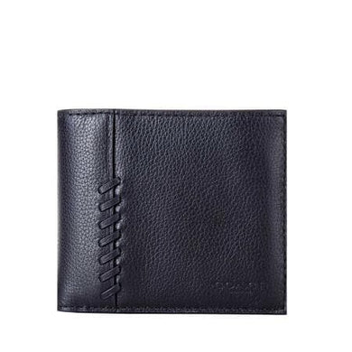 Coach 3 In 1 Wallet With Baseball Stitch F21371 In Black
