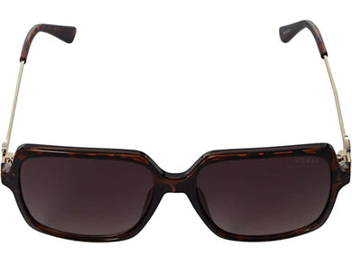 Guess Oversized GF6131 Square Plastic Sunglasses In Black