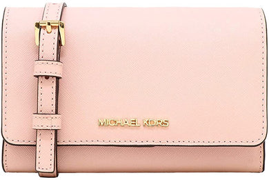 Michael Kors Medium Multifunction Phone 35S0GTVC2L Jet Set Travel Crossbody Bag In Blossom