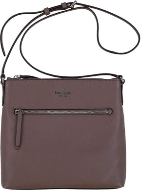 Kate Spade Jackson WKRU5941 Top Zip Crossbody Bag In Brownstone