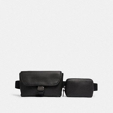 Coach Double Rider 6320 Belt Bag In Black
