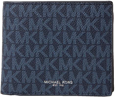Michael Kors Cooper Billfold With Coin Pocket 36U9LCRF3B In Admiral