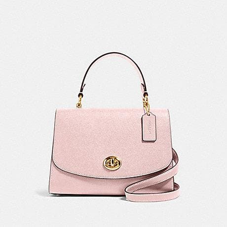 Coach Tilly Top Handle Satchel 76618 (Imitation Gold/Blossom)